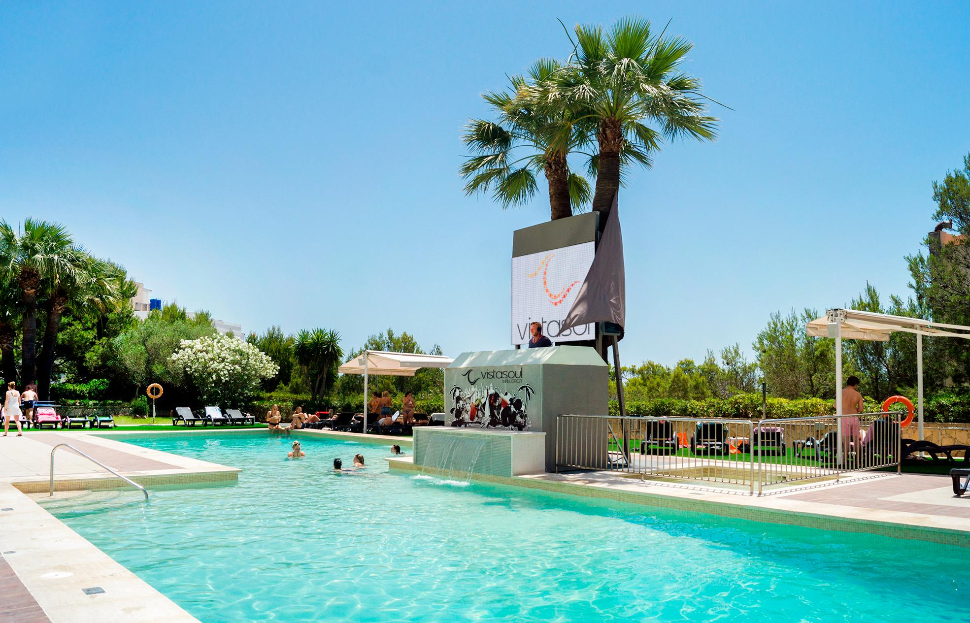 Vistasol Apartments in Magaluf, Majorca, Balearic Islands