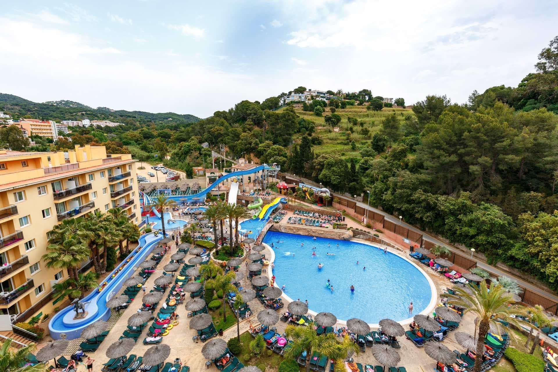 Rosamar Garden Resort in Lloret de Mar, Costa Brava, Spain